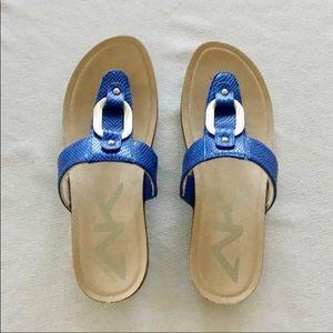Blue Anne Klein Spirt Sandals NIB